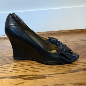 Preview International Shoes - Black Wedges